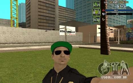 C-HUD by SampHack v.5 para GTA San Andreas