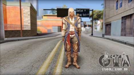 Connor Kenway Assassin Creed III v2 para GTA San Andreas