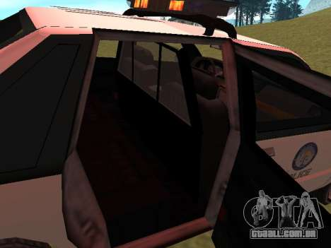 Police Original Cruiser v.4 para as rodas de GTA San Andreas