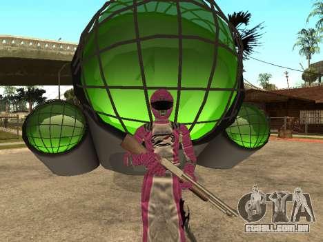 Power Rangers Operation Overdrive para GTA San Andreas décimo tela