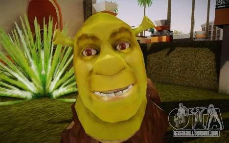 Shrek para GTA San Andreas terceira tela