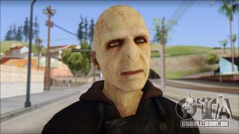 Lord Voldemort para GTA San Andreas terceira tela