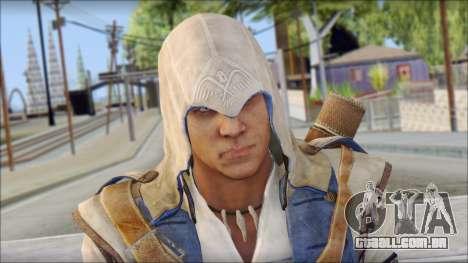 Connor Kenway Assassin Creed III v2 para GTA San Andreas terceira tela