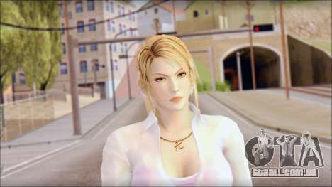 Sarah from Dead or Alive 5 v4 para GTA San Andreas terceira tela