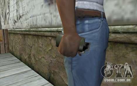 Smoke Grenade para GTA San Andreas terceira tela