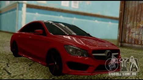 Mercedes-Benz CLA 250 para GTA San Andreas esquerda vista