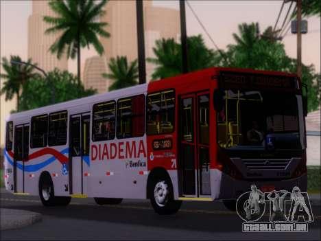 Comil Svelto 2008 Volksbus 17-2 Benfica Diadema para GTA San Andreas vista inferior