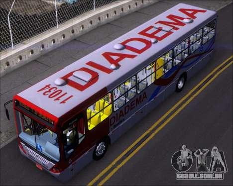 Comil Svelto 2008 Volksbus 17-2 Benfica Diadema para GTA San Andreas vista traseira