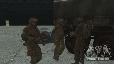 O comandante da CDI, EUA para GTA San Andreas