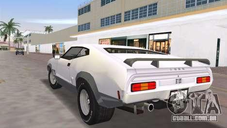Ford XB GT Falcon Hardtop 1973 para GTA Vice City deixou vista