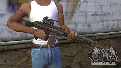 HK A4 SOG from Medal Of Honor: Warfighter para GTA San Andreas terceira tela