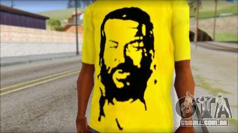 Bud Spencer And DAnusKO T-Shirt para GTA San Andreas terceira tela