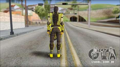 Scorpion Skin v2 para GTA San Andreas segunda tela