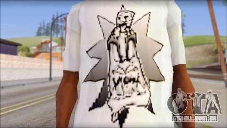 Spray Can Comic T-Shirt para GTA San Andreas terceira tela