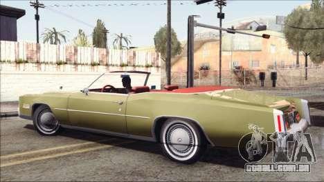 Cadillac Eldorado Stock para GTA San Andreas esquerda vista
