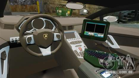 Lamborghini Aventador LP700-4 v2 [RIV] para GTA 4 vista de volta