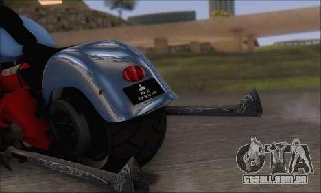 Boss Hoss v8 8200cc para GTA San Andreas vista direita