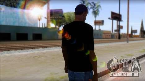 Anarhcy T-Shirt v1 para GTA San Andreas segunda tela