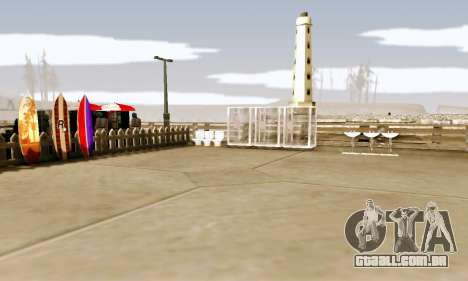 New Santa Maria Beach v1 para GTA San Andreas terceira tela