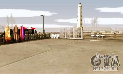 New Santa Maria Beach v1 para GTA San Andreas terceira tela