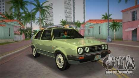 Volkswagen Golf II 1991 para GTA Vice City