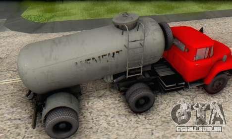 Reboque de cimento transportadora TTC 26 para GTA San Andreas vista direita