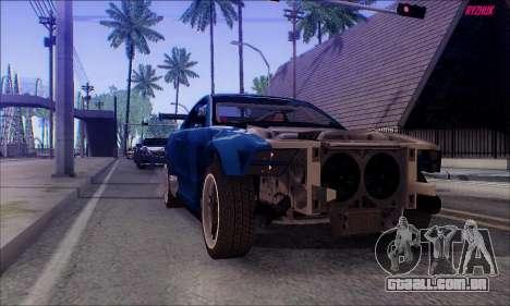 Ford Mustang GTR para GTA San Andreas vista direita