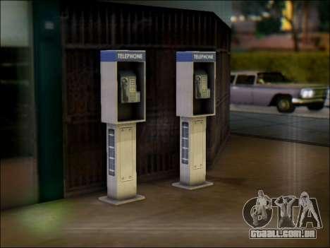 Rua telefone para GTA San Andreas segunda tela