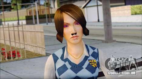Pinky from Bully Scholarship Edition para GTA San Andreas