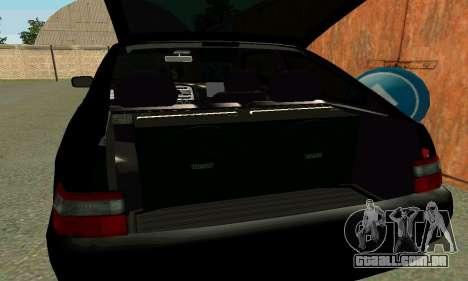 VAZ 21123 Turbo para GTA San Andreas vista inferior