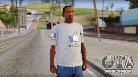 The Likersable T-Shirt para GTA San Andreas