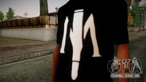 Shirt Madafaka para GTA San Andreas terceira tela