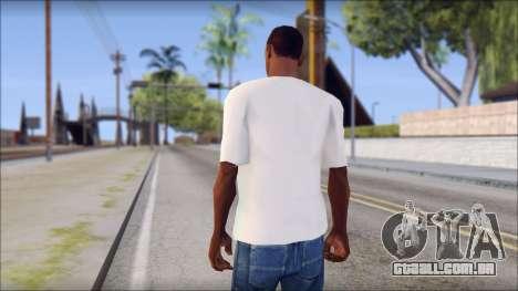 Spray Can Comic T-Shirt para GTA San Andreas segunda tela
