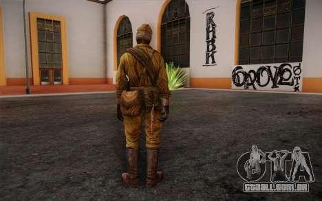 Nikolai from Killing Floor para GTA San Andreas segunda tela