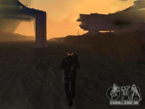 Andando sobre as águas para GTA San Andreas por diante tela