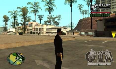 Gold Deagle para GTA San Andreas terceira tela