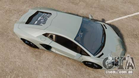 Lamborghini Aventador LP700-4 v2 [RIV] para GTA 4 vista direita