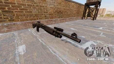 Ружье Benelli M3 Super 90 kryptek typhon para GTA 4