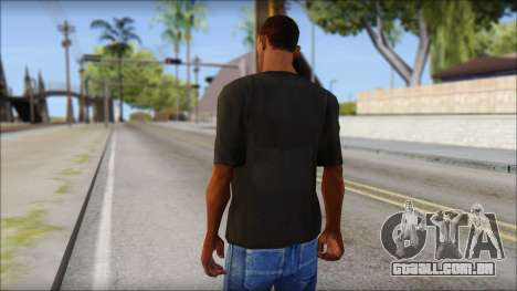 Just Do It NIKE Shirt para GTA San Andreas segunda tela