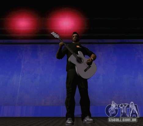 Músicas de Viktor Tsoi guitarra para GTA San Andreas quinto tela