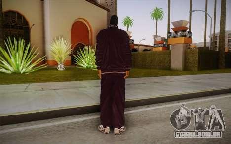 Snoop Dogg Skin para GTA San Andreas segunda tela