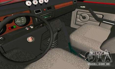 GÁS 24 para GTA San Andreas vista traseira