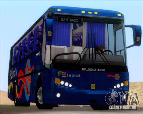 Busscar El Buss 340 Bio Linatal para GTA San Andreas vista superior