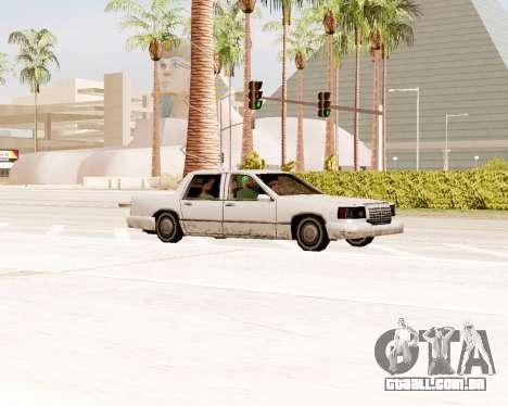 Trecho De Limousine para GTA San Andreas vista direita