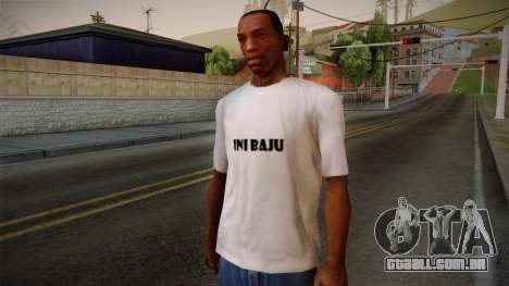 Yao Ming T-Shirt para GTA San Andreas
