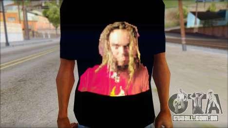 Max Cavalera T-Shirt v2 para GTA San Andreas terceira tela