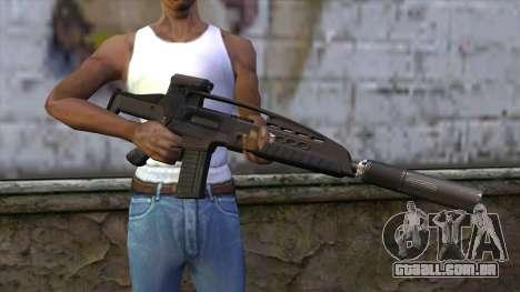XM8 Assault Black para GTA San Andreas terceira tela