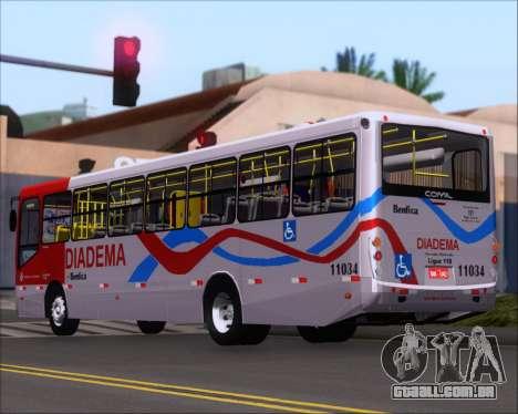Comil Svelto 2008 Volksbus 17-2 Benfica Diadema para GTA San Andreas vista direita