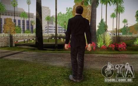 Anonymous Skin para GTA San Andreas segunda tela