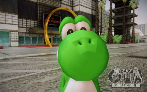 Yoshi from Super Mario para GTA San Andreas terceira tela